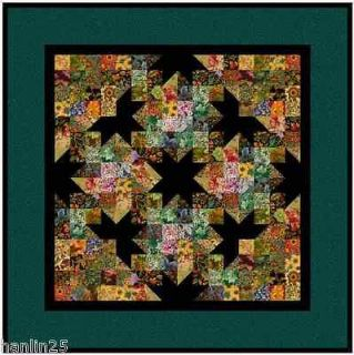 WATERCOLOR QUILT WALL HANGING KIT   Thimbleberries   100 plus