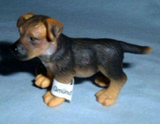 Schleich #16343 German Shepherd Dog Puppy, Toy Collectible Dog