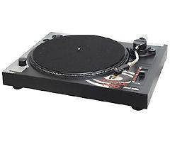 Pyle Pltt b1 Professional Belt drive Manual Turntable (plttb1)