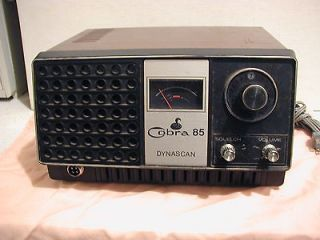 85 Dynascan CB Radio 2 Way radio Transciever  BASE STATION 23 ch