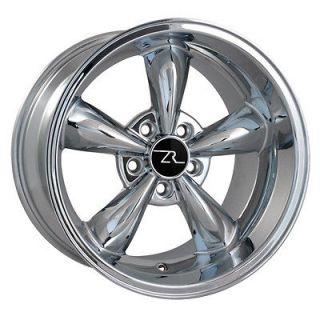 Deep Dish Mustang ® Bullitt Wheels 17x10.5 Bullet 17 inch Rear Rims