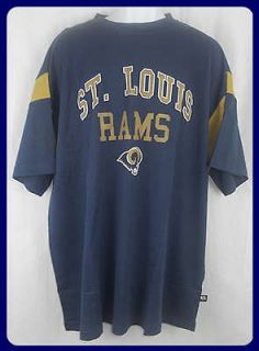 ST LOUIS RAMS NFL LICENSED T SHIRT BIG & TALL SIZES