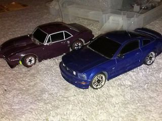 Mod XMods Remote Control RC Cars Ford Mustang Pontiac Firebird + More