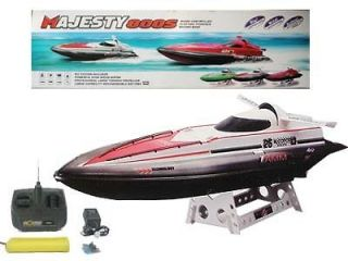 32 Radio Remote Control Majesty 800S Electric Racing Boat RTR RC Red