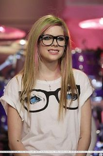 ABBEY DAWN AVRIL LAVIGNE PEEPERS GLASSES OVERSIZED T SHIRT TEE TOP NWT