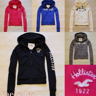 Hollister Womens Hoodie Sweatshirt Pullover Jumper Jacket Abercrombie