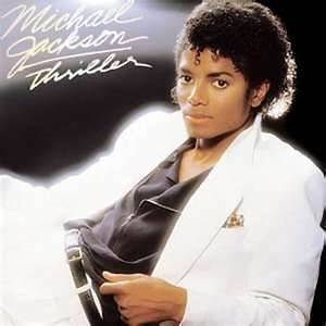 Jackson Thriller Record 1982 Original Album Excellent Condition