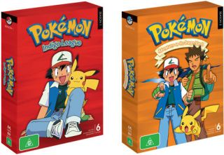 pokemon season 1 in DVDs & Blu ray Discs
