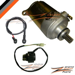 Jonway 125cc 150cc Starter Motor and Relay Solenoid Scooter Moped Quad