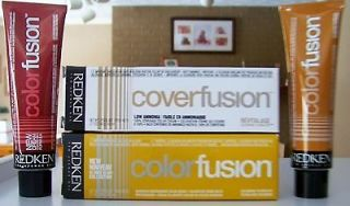 Redken COLOR FUSION Professional Hair Color LOW AMMONIA you choose
