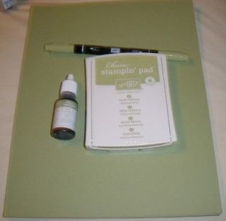 Up Scrapbooking Paper Classic Ink Pad Marker & Refill PEAR PIZZAZZ