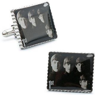 Meet the Beatles Album Cover Stamp Cufflinks