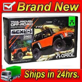 Axial AX90021 SCX10 Dingo 1/10 4WD Electric Rock Crawler Builders Kit