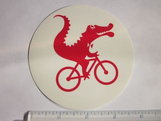 MOOTS 1981  RED  Titanium Ride Road Mountain Bike Frame Sticker Decal