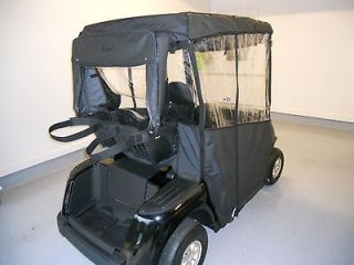 NEW EZGO RXV BLACK OR BEIGE GOLF CART 3 SIDED CUSTOM FIT OVER THE TOP