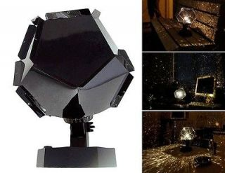 COOL DIY Romantic Star Home Planetarium Star master Projector Light