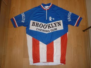 BROOKLYN RETRO CYCLING TEAM BIKE JERSEY   MADE IN ITALY