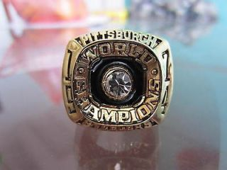 1974 75 Pittsburgh Steelers SUPER BOWL RING NFL FOOTBALL RING 11 SIZE