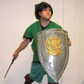 Link From Zelda or Robin Hood Adult Costume New