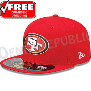 59FIFTY SAN FRANCISCO 49ers   Official NFL Sideline Cap Fitted Hat Red