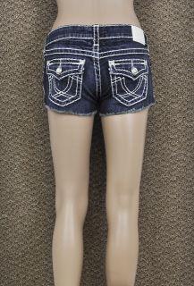 LA Idol Jeans Size S L Classic White Stitching and Rhinestone Buttons