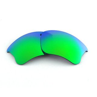 WL Polarized Emerald Replacement Lenses For Oakley Flak Jacket XLJ
