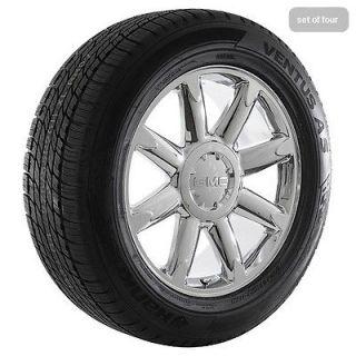 inch 2009 GMC Sierra 2009 Yukon Denali Chrome Rims Wheels and Tires