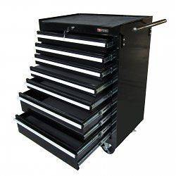 Rolling Tool Storage Chest   by Excel   TB2080BBS B Bl​ack