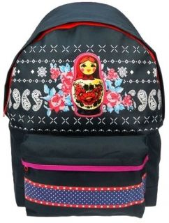 BEST FRIENDS FOREVER Matryoshka Backpack Rucksack School Bag Horse