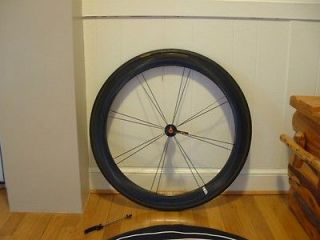Aeolus 5.0 Carbon Clincher Road Bicycle Front Wheel 9/10 condition