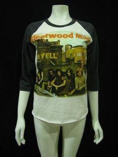 FLEETWOOD MAC ON WELL Rock Jersey T Shirt Vintage Women
