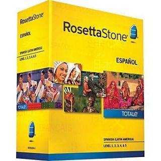 Rosetta Stone Spanish (Lat Am) v4 Totale Lvl 1 5 by Rosetta Stone