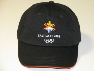 Salt Lake Winter Olympics Hat, Cap