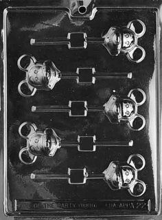 Animals MOUSE LOLLY (MICKEY) Chocolate Candy Mold Soap 2 x 2