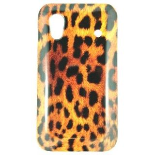 Samsung Galaxy Ace S5830 designer print LEOPARD hard cell phone cover