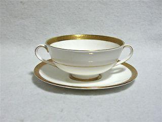 Royal Doulton H4980 Royal Gold Cream Soup & Saucer Set(s)