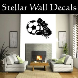 Soccer Sport Wall Car Vinyl Decal Sticker MC009