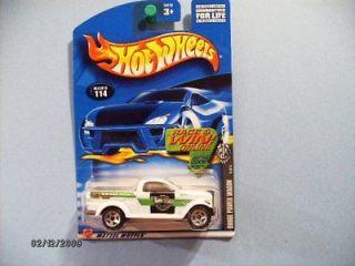 Hot Wheels Dodge Power Wagon, Collector #114,2002 Fed Fleet Series #4