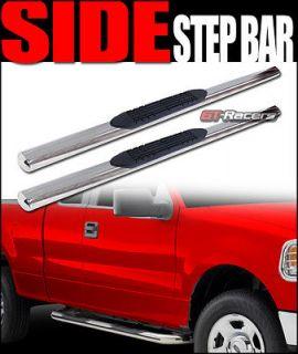 STEP NERF BARS running boards 99 11 CHEVY SILVERADO/SIERRA REG CAB C