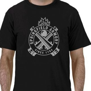 Springfield Armory Shirt Pistol Gun target revolver holster USA sizes
