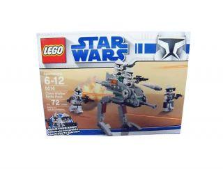 Lego Star Wars The Clone Wars Clone Walker Battle Pack 8014