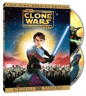 Star Wars The Clone Wars DVD, 2008, 2 Disc Set, Special Edition