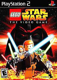 PlayStation 2 PS2 LEGO Star Wars The Video Game (black label)