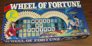 wheel of fortune board game in Board & Traditional Games
