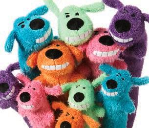 plush dog toys in Toys & Chews
