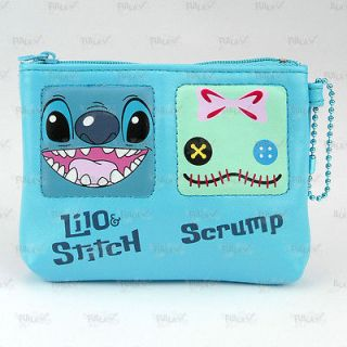 Disney Lilo & Stitch Lilo and Stitch Coins Bag Purse with Card Holder