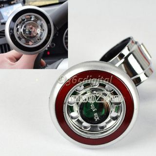 S0BZ Car Hand Control Steering Wheel Suicide Knob Ball Power Handle