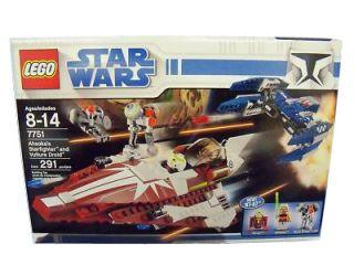 Lego Star Wars The Clone Wars Ahsokas Starfighter Droids 7751