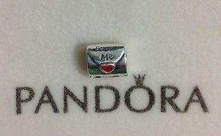 Authentic Pandora Sterling Silver Love Letter Charm / Bead 790894EN09