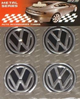Wheel Rim Center Decals Stickers Badge Caps for most VW